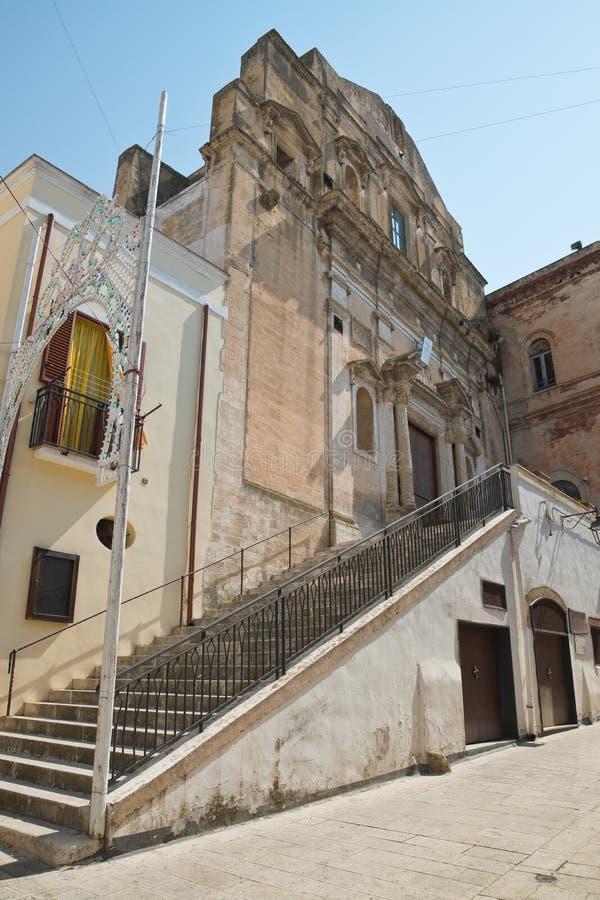 Igreja de St Domenico Castellaneta Puglia Italy fotografia de stock