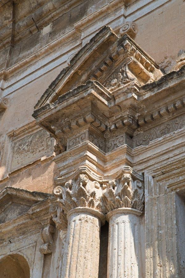 Igreja de St Domenico Castellaneta Puglia Italy foto de stock