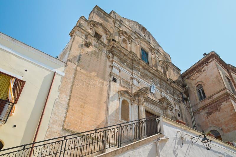 Igreja de St Domenico Castellaneta Puglia Italy foto de stock royalty free