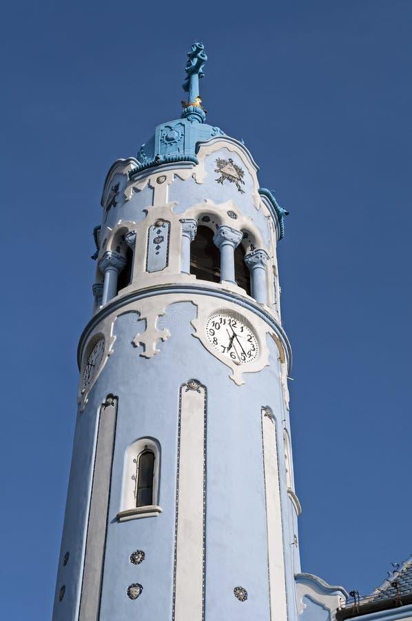 A igreja de St. Elizabeth, Bratislava. fotos de stock royalty free