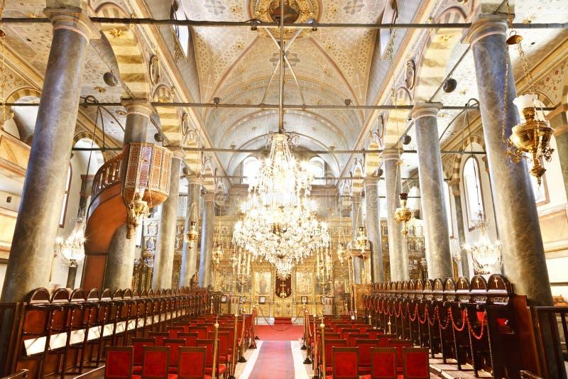Igreja de St George, Istambul, Turquia imagens de stock