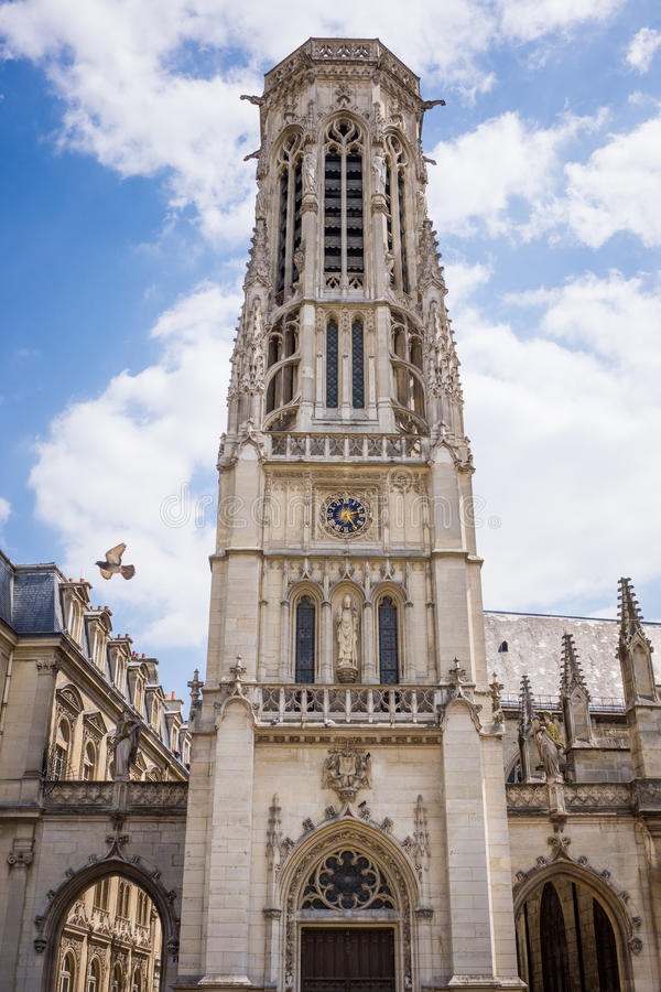 Igreja de St Germain, Paris foto de stock