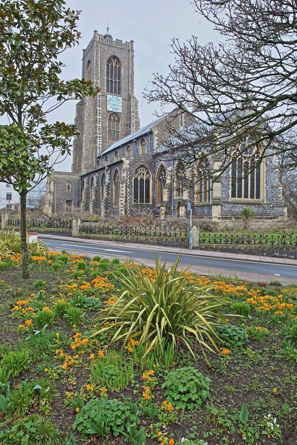 A igreja de St Giles imagem de stock royalty free