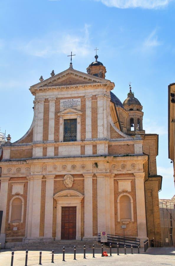 Igreja de St Giovanni Macerata Marche Italy imagens de stock royalty free