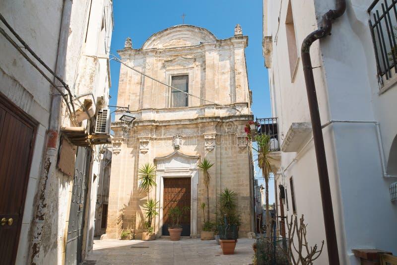 Igreja de St Giuseppe Castellaneta Puglia Italy imagens de stock royalty free