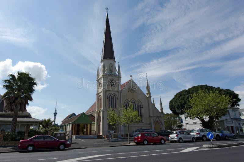 A igreja de St John em Ponsonby Auckland Nova Zelândia imagem de stock royalty free