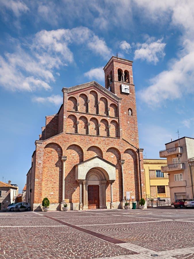 Igreja de St Joseph em San Salvo, Chieti, Abruzzo, Itália imagens de stock