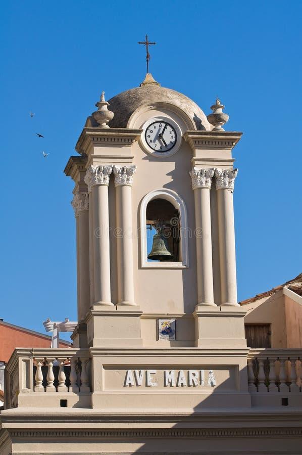 Igreja de St. Maria di Porto Salvo. Maratea. Basilicata. Itália. foto de stock royalty free