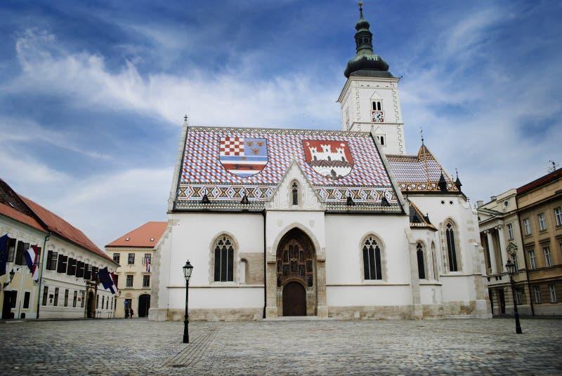 A igreja de St Mark imagens de stock