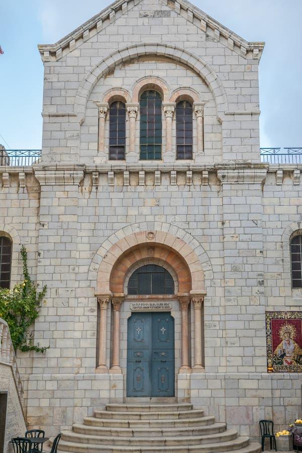 Igreja de St Mary da agonia fotografia de stock royalty free