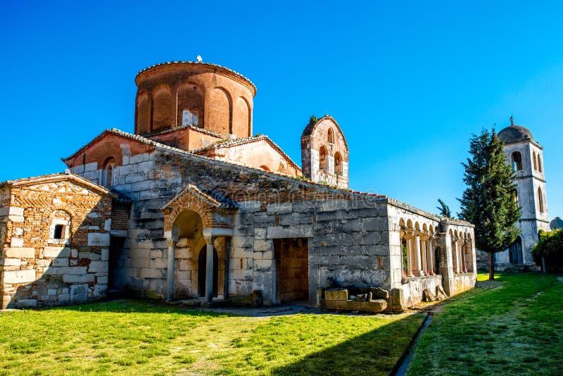 Igreja de St Mary em Apollonia imagem de stock