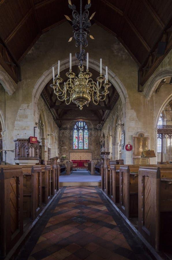 A igreja de St Mary, Goudhurst, Kent, Reino Unido foto de stock royalty free