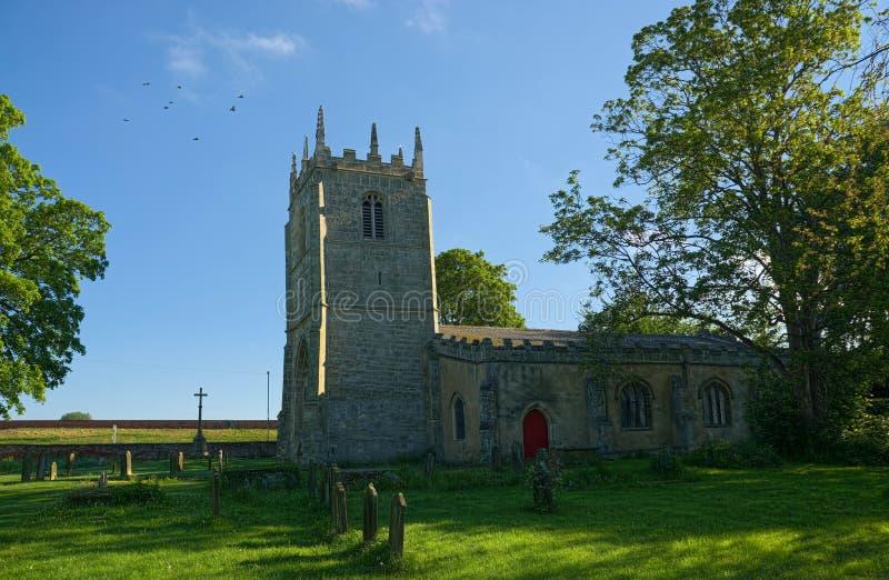 Igreja de St Mary Magadale, Whitgift, equitação do leste de Yorkshire imagem de stock