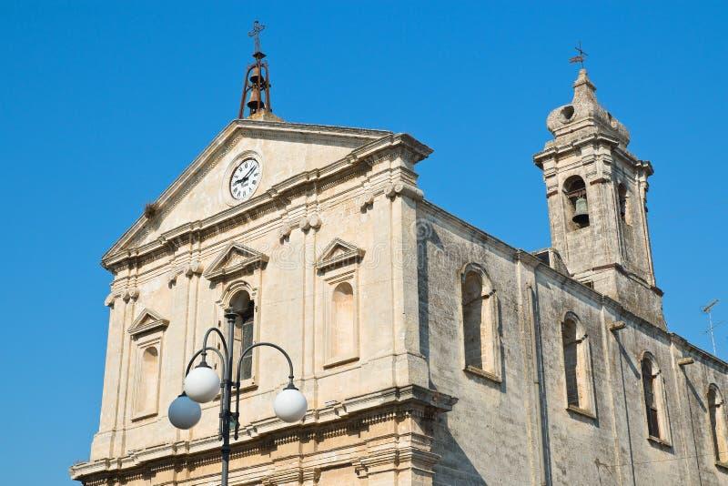 Igreja de St Michele Arcangelo Castellaneta Puglia Italy imagens de stock