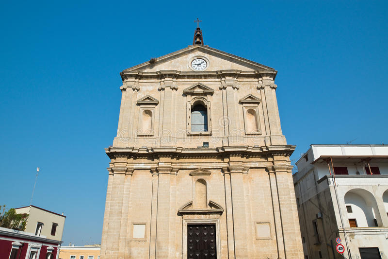 Igreja de St Michele Arcangelo Castellaneta Puglia Italy fotos de stock royalty free