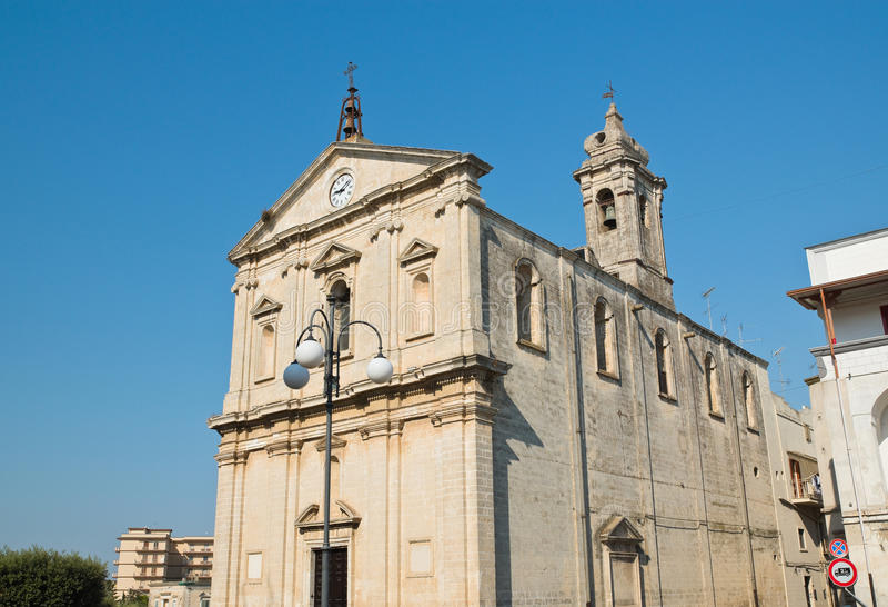 Igreja de St Michele Arcangelo Castellaneta Puglia Italy foto de stock royalty free