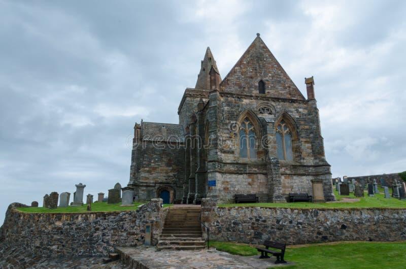 Igreja de St.monans imagem de stock