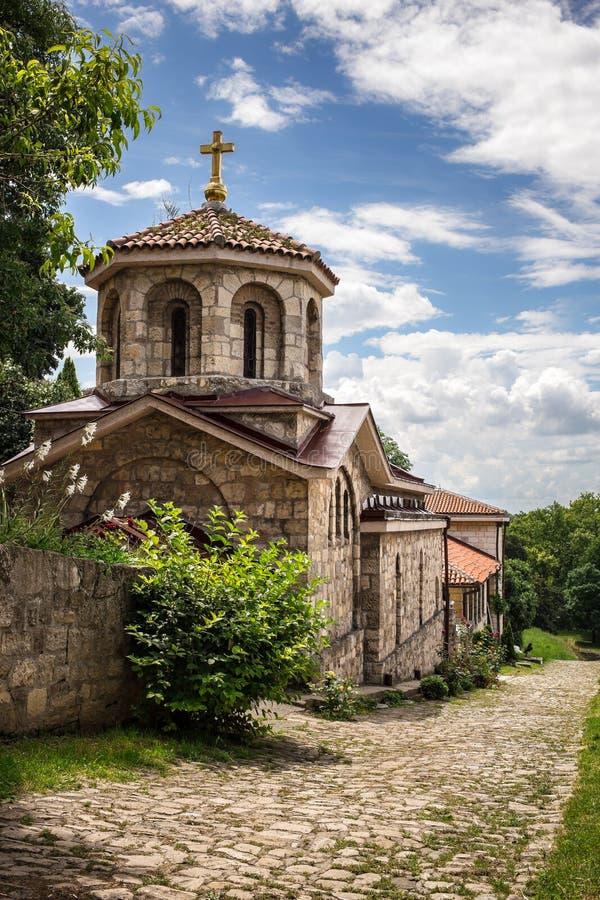 Igreja de St Petka na fortaleza de Kalemegdan fotos de stock royalty free