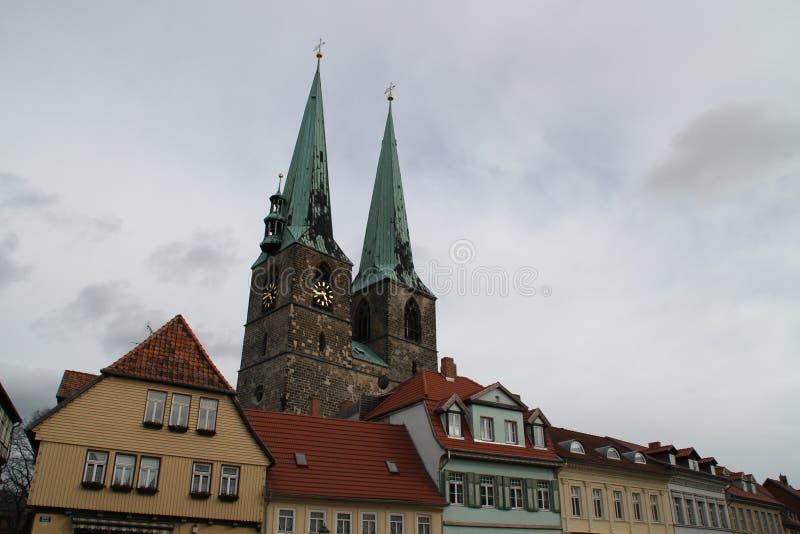 A igreja de StNikolai imagens de stock