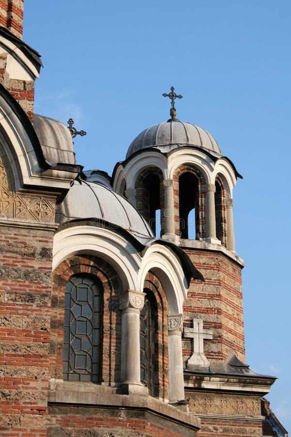 Igreja de Sveti Sedmochislenitsi fotos de stock royalty free