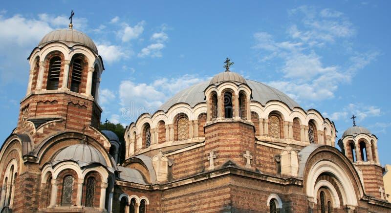 Igreja de Sveti Sedmochislenitsi fotos de stock