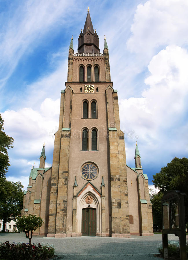 Igreja de Sweden fotos de stock royalty free