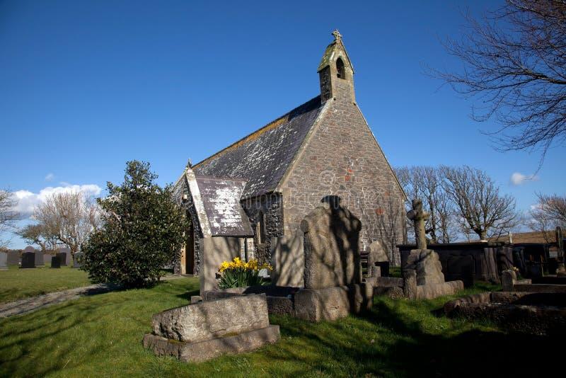 Igreja de Tal-Y-Llyn fotos de stock