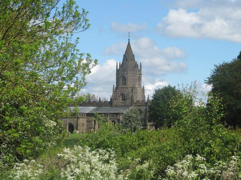 Igreja de Telford foto de stock