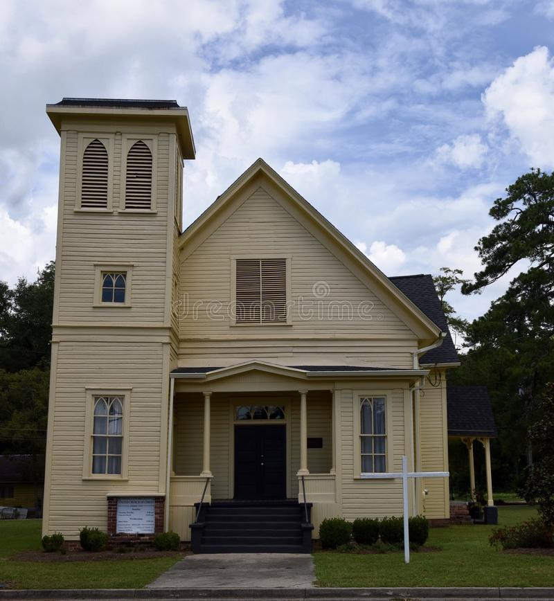 Igreja de Thomasville foto de stock royalty free