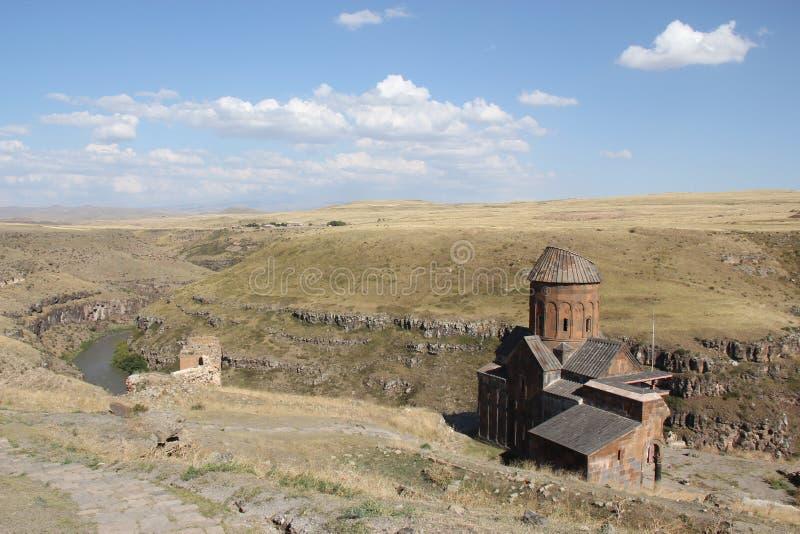 A igreja de Tigran Honent, Turquia fotos de stock royalty free