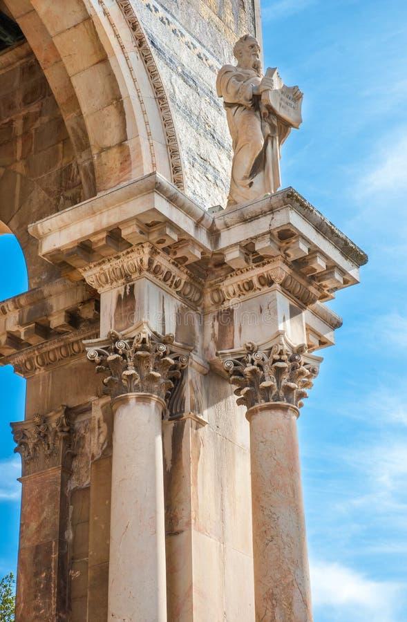Igreja de toda a fachada das nações imagens de stock royalty free