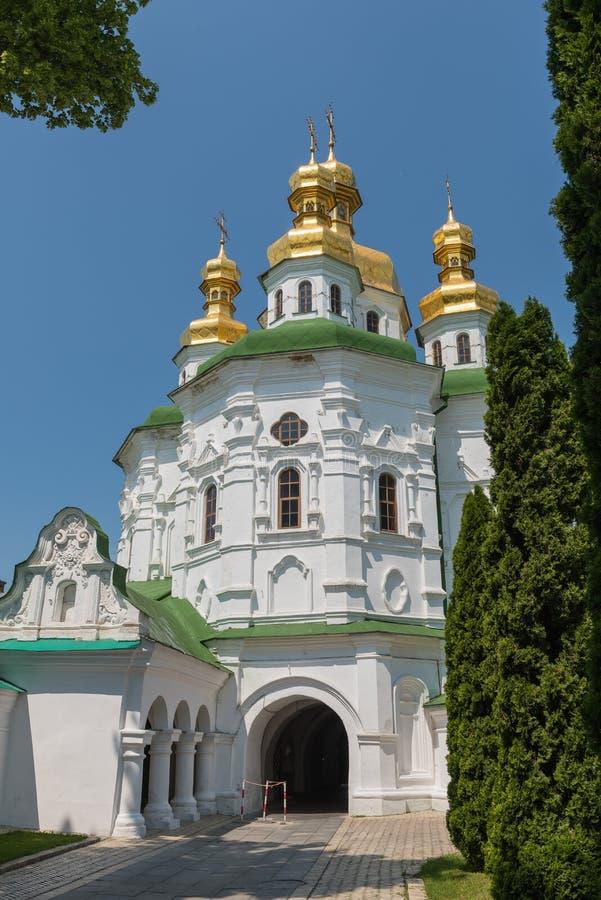 Igreja de todos os Saint em Pechersk Lavra fotos de stock