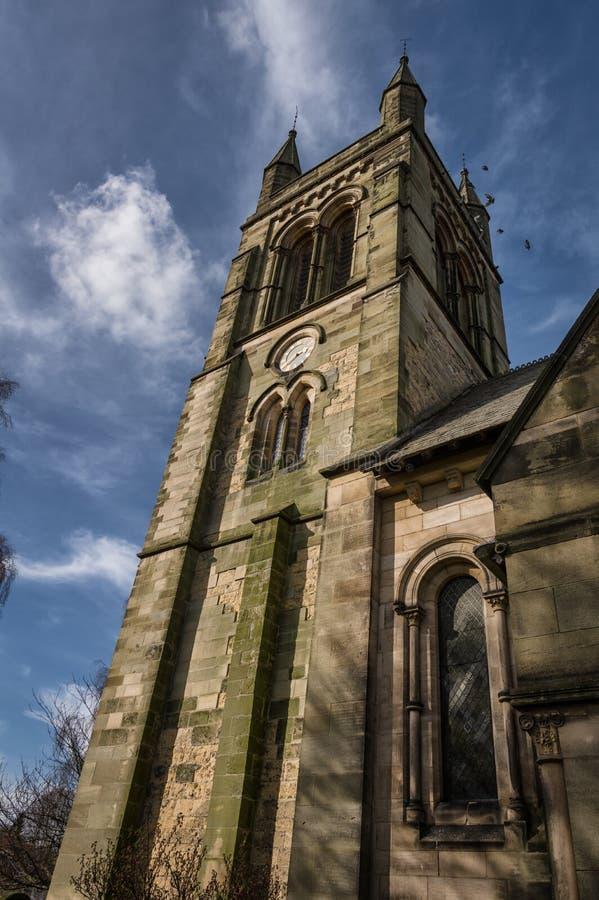 Igreja de todos os Saint, Helmsley fotos de stock