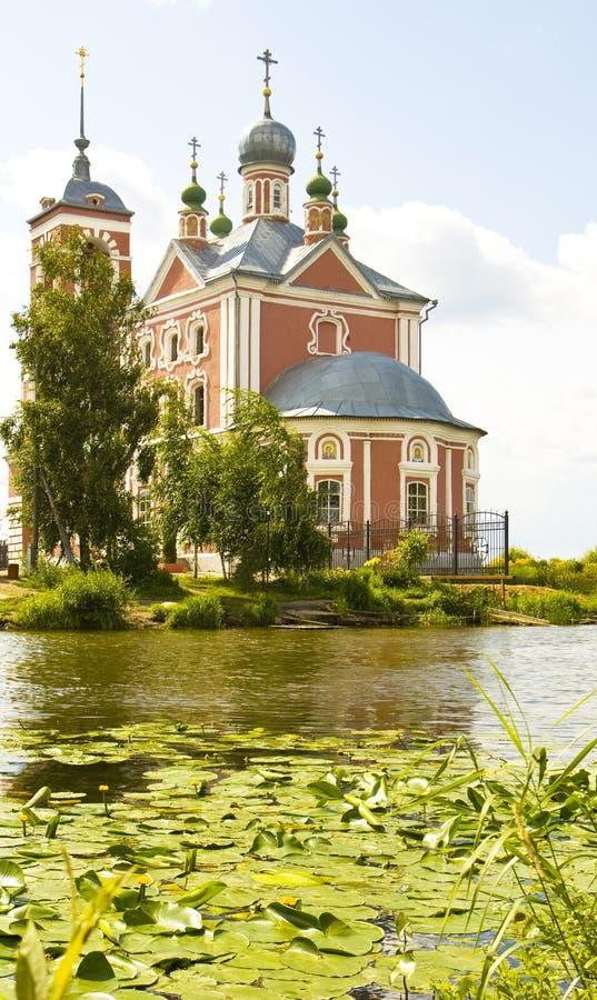 Igreja de todos os Saint na cidade Pereslavl-Zalessky, Rússia imagens de stock royalty free