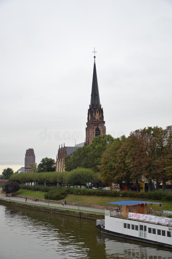 Igreja de três reis fotografia de stock