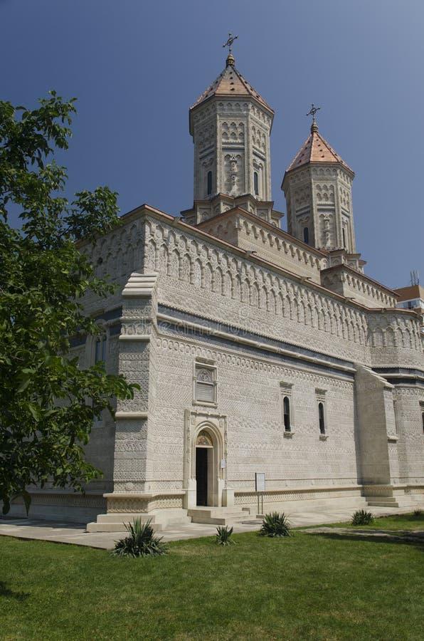 Igreja de Trei Ierarhi, Iasi, Romênia imagem de stock