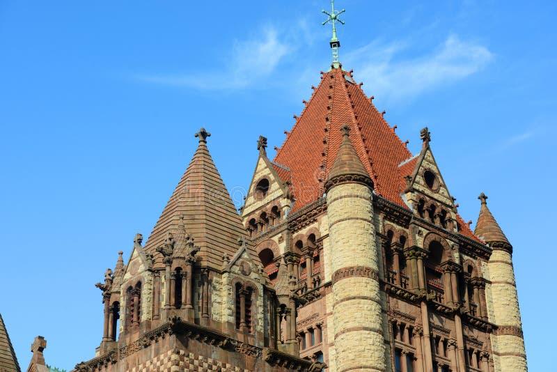 Igreja de trindade de Boston, EUA fotografia de stock royalty free
