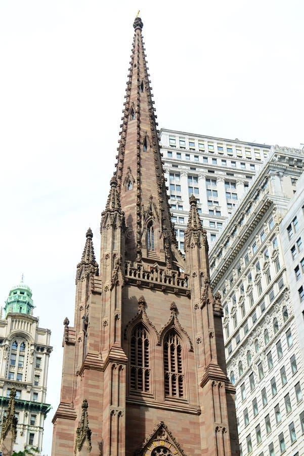 Igreja de trindade, Manhattan, New York City foto de stock royalty free