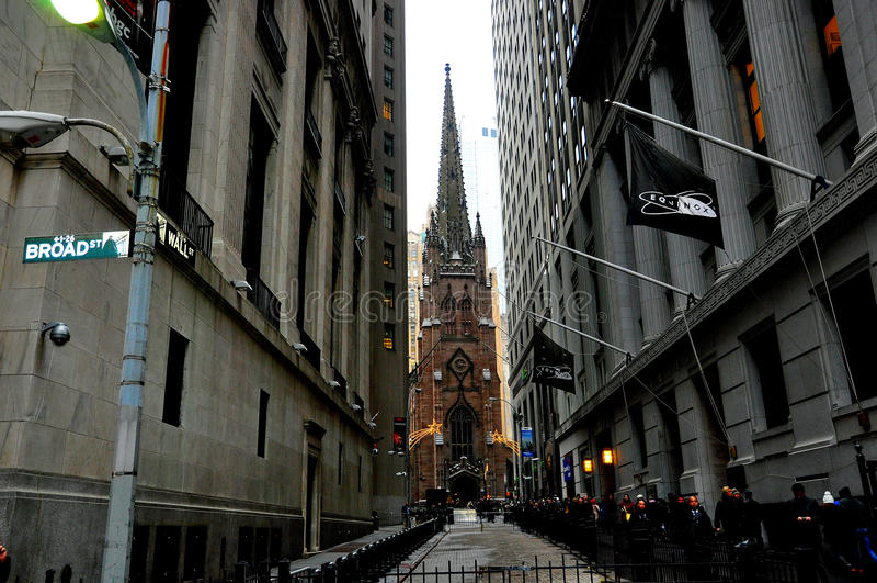Igreja de trindade New York foto de stock royalty free