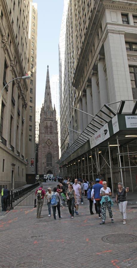 Igreja de trindade, New York City imagens de stock royalty free