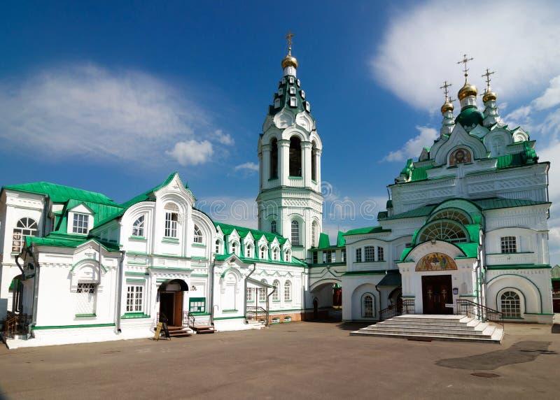 Igreja de trindade no Yoshkar-Ola Rússia, a república de Mari El fotografia de stock royalty free