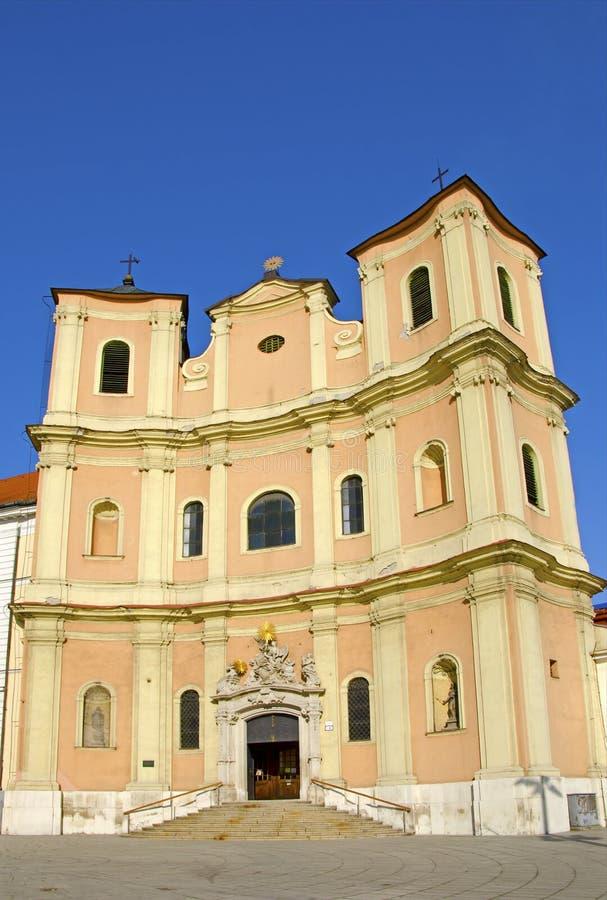 A igreja de trindade santamente fotos de stock royalty free