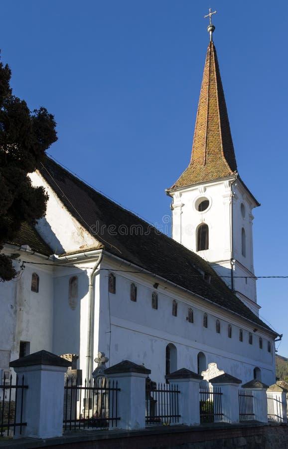 A igreja de trindade santamente, Sibiel fotos de stock royalty free
