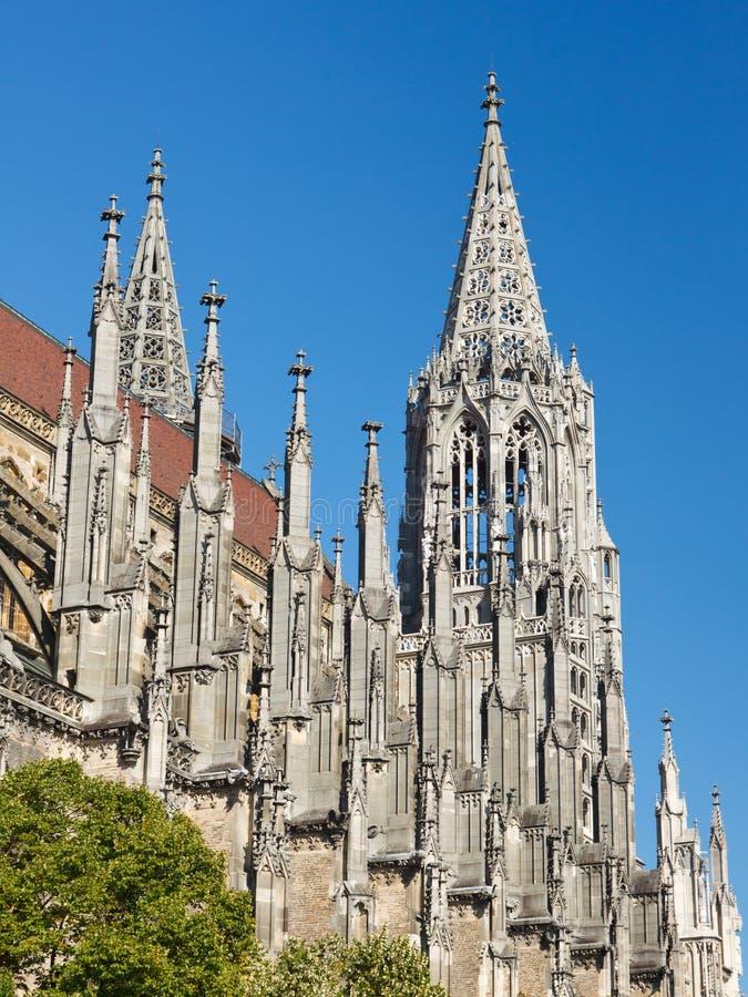 Igreja de Ulm (Ulmer Muenster), Alemanha imagem de stock royalty free