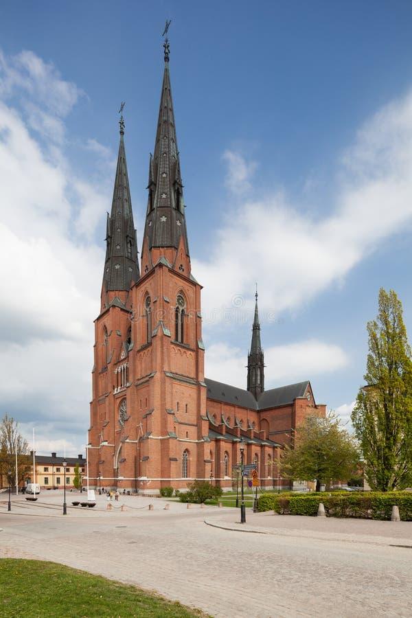 Igreja de Upsália imagem de stock
