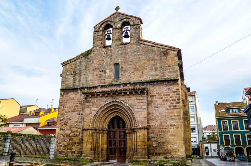 Igreja de Vieja de Sabugo foto de stock royalty free