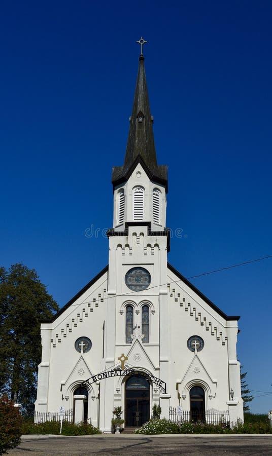 Igreja de Westphalia imagem de stock royalty free