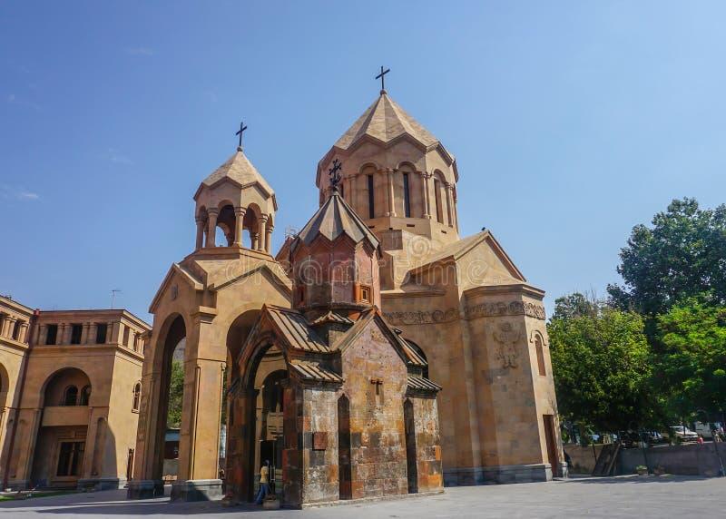 Igreja de Yerevan Kathoghike fotos de stock royalty free