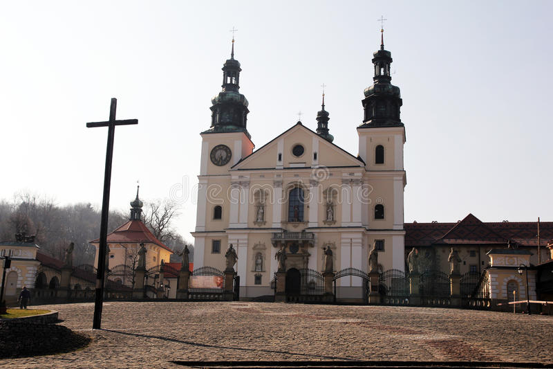 Igreja de Zebrzydowska imagem de stock