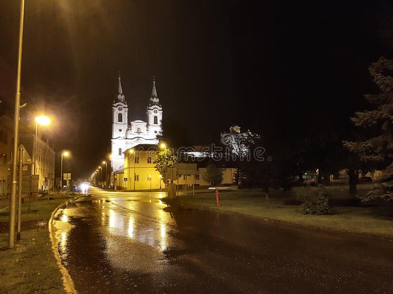 Igreja de Zirc imagem de stock royalty free